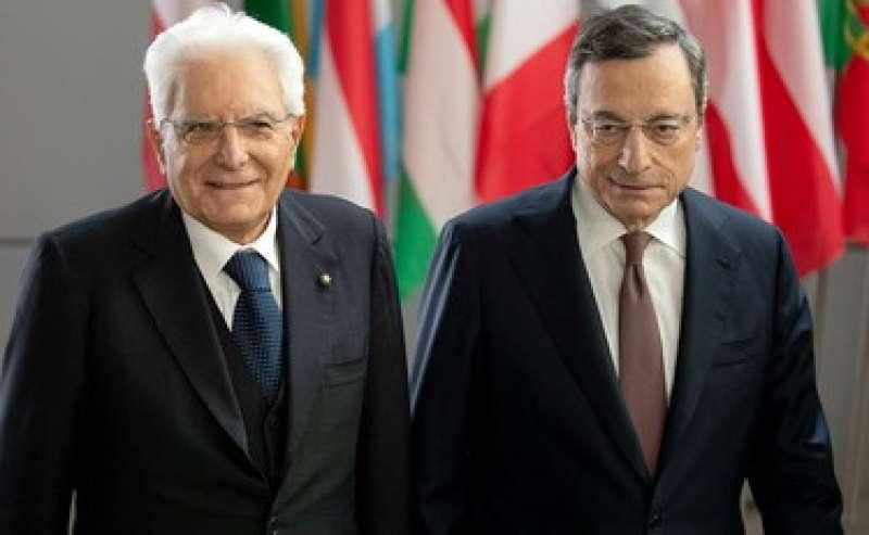 Mattarella Draghi