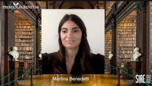 premio laurentum 2020 martina benedetti