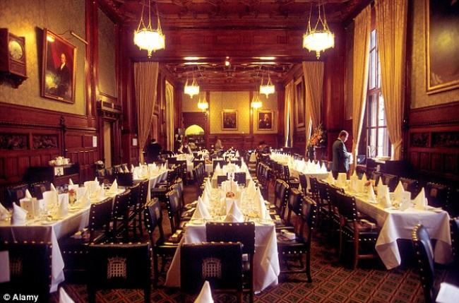 Adjournment Restaurant House Of Commons
