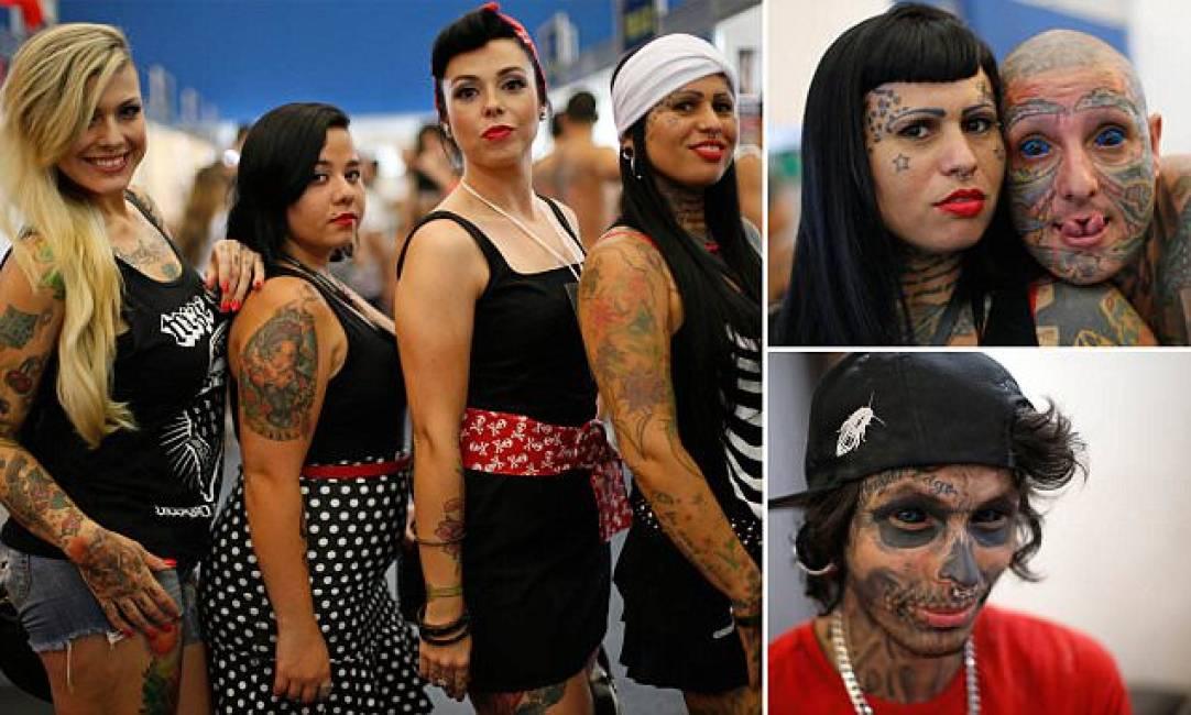 Delirio in brasile per la tattoo convention spuntano for La tattoo convention