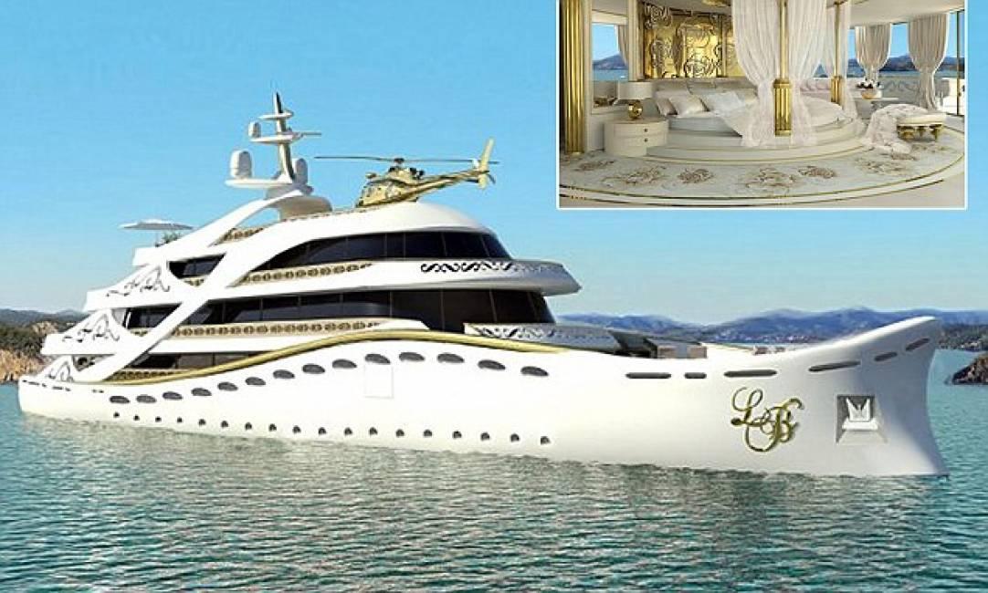 Yacht Con Elicottero Prezzo : Un tuffo nel primo yacht extralusso e ultra kitsch per