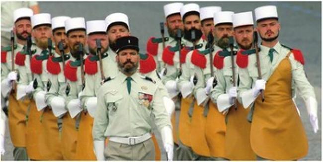 Legione Straniera Francese la Legione Straniera