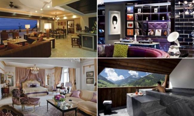 Una notte da re le pi belle e costose suites d albergo for Le piu belle lampade da tavolo