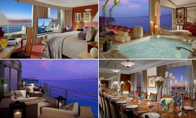 Suite sweet suite le immagini della stanza d albergo for Appartamento piu costoso new york