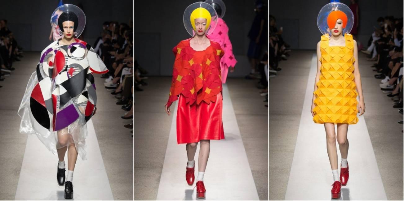 "Parigi val bene una moda - alla ""fashion week"" francese atterrano"