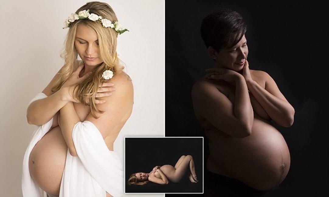 foto donne incinta porno